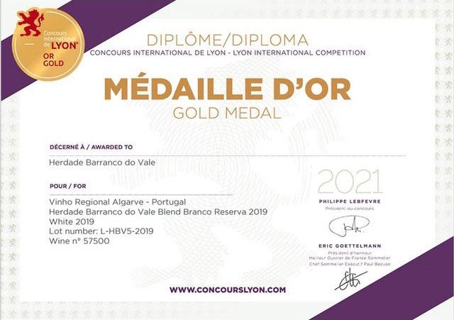 Medalha Ouro Lyon